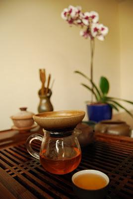 tradicional té chino