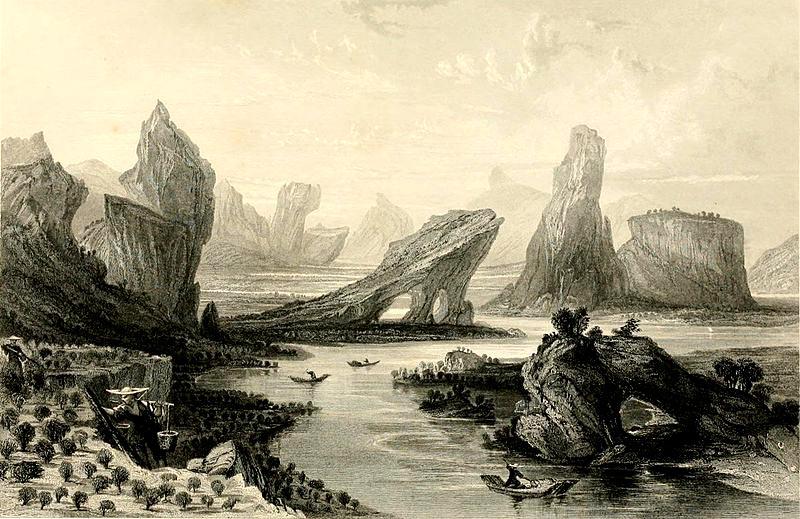 Wuyi-Shan dibujo siglo XIX