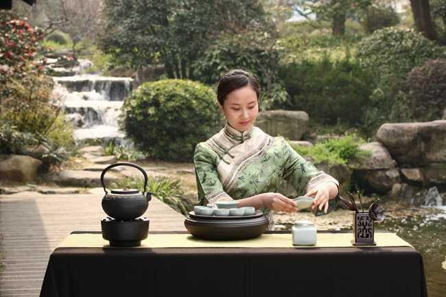 tradicional ceremonia té chino