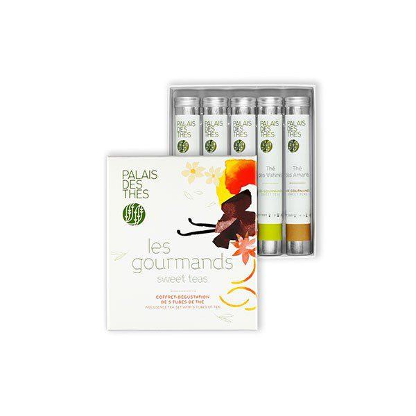 Caja degustación tés perfumados - 5 tés