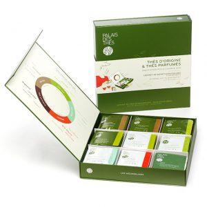 Caja selección tés bolsitas - 8 tés