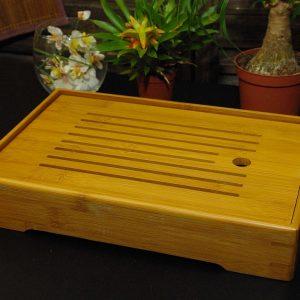 """""""Bandeja"""" para té de bambú - 31x20cm"""