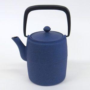 "Tetera Hierro Colado ""Wabi"" azul 0,6 litros"