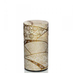 Lata metálica papel pintado oro 100g